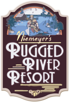Rugged River Resort logo
