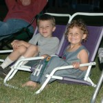 Kids in chairs
